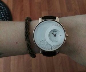 tolle.neue Uhr mit Glitzerperlen