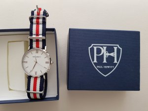 tolle neuwertige armbanduhr von paul hewitt