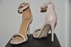 Tolle nude hellrosa High Heels mit Riemchen - Letzter Preis! :-)