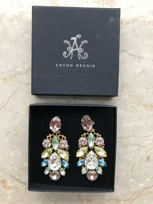 Anton Heunis Statement Earrings bronze-colored-light pink