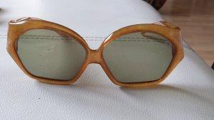 Tolle Original 70er Vintage Dior Sonnenbrille Bernstein Look