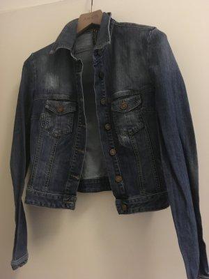 Manila Grace Veste en jean bleu