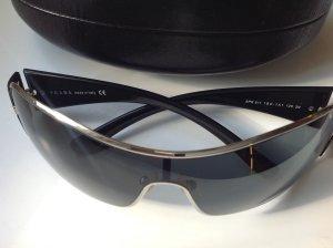 Tolle Original PRADA Sonnenbrille dezent ! schwarz silber