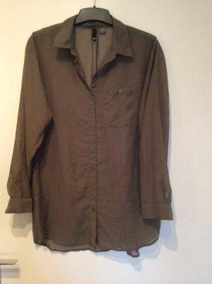 tolle oversize Bluse von Divided H&M in olivgrün khaki