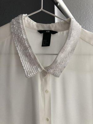 Tolle Pailletten Bluse H&M