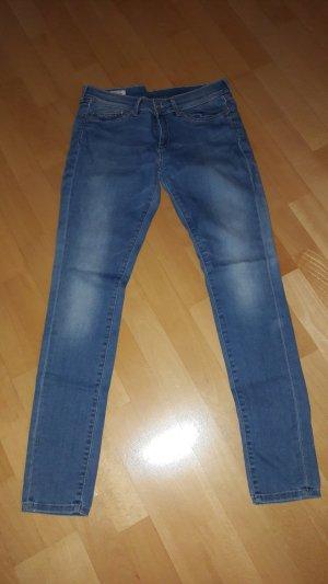 Pepe Jeans Vaquero slim azul acero Algodón