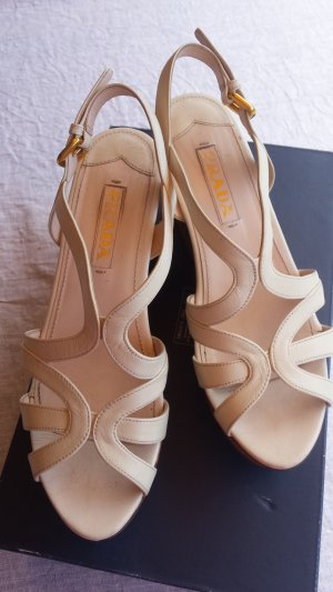 tolle Prada - Wedges in creme