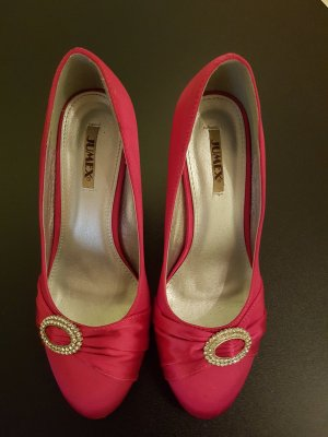 tolle Pumps in pink mit Glitzer-Detail