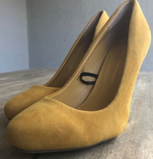 tolle Pumps senfgelb gelb High Heels