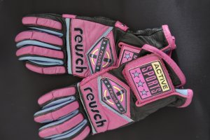Reusch Leather Gloves multicolored leather