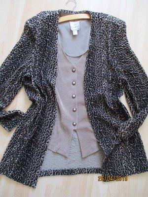 Ribkoff Double Jacket black-brown