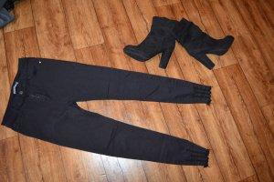 Tube jeans zwart