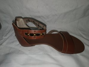 Drievholt Roman Sandals brown leather