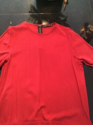 Tolle rote Bluse von Zara