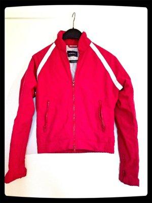 Tolle rote sportliche Jacke von Only Gr. S