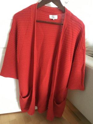Only Smanicato lavorato a maglia rosso Cotone