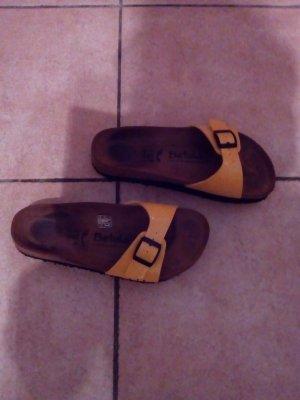 Tolle Sandale- Schlappen-Gr.38 gelb