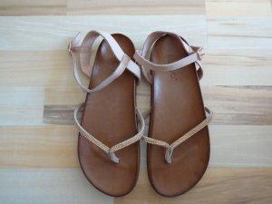 Tolle Sandalen von Inuovo - Größe 38 - Rosa - Echtes Leder - Sandalette