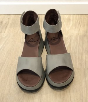 100 Platform Sandals multicolored leather