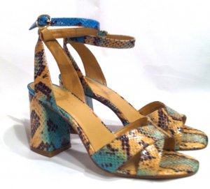 Tolle Sandalen von Nine West im Snake Look - Gr.37