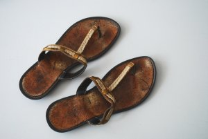 Tolle Sandalen von Stefanel 38 bronze