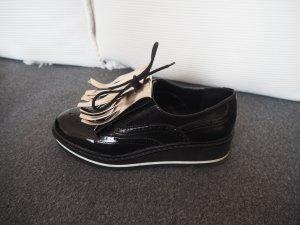 Bershka Veterschoenen zwart-brons