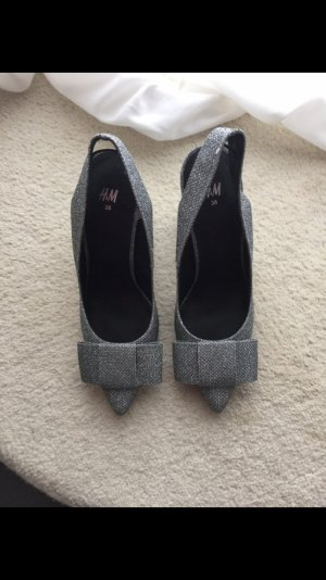 Tolle Schuhe Silber H&M