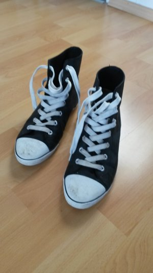 Kappa Low Shoes black-white