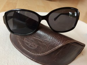 Tolle schwarze FOSSIL Sonnenbrille incl. Bag & Tuch