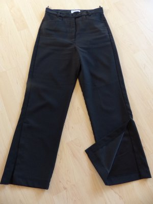 Tolle schwarze Hose von RC Collection in Gr. 34 mit stylishem Schlitz am Hosenbein