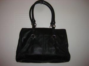 Tolle schwarze Lederhandtasche