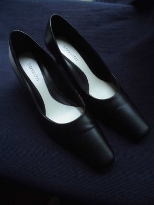 Slingback Pumps black imitation leather