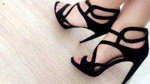 Tolle schwarze Sandaletten