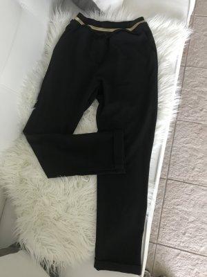 Tolle schwarze Stoffhose