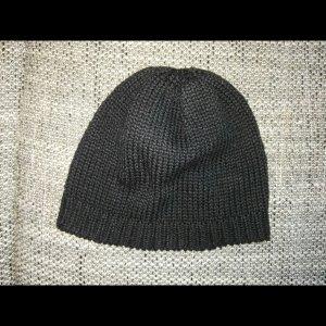tolle schwarze Wollmütze