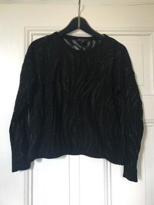 Tolle schwarzer Pullover von MANGO - Größe M