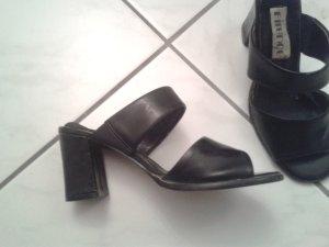 tolle sexy Riemchen Schuhe Sandaletten Pumps - italienische Schuhe - Gr. 36