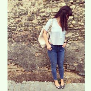 Tolle Skinny-Jeans in hellem Blau