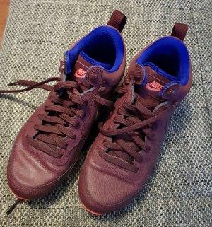 Nike High Top Sneaker carmine-purple