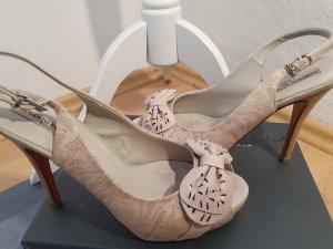 tolle Sommer-High Heels von Roberto Botella, Größe 39 mit Karton
