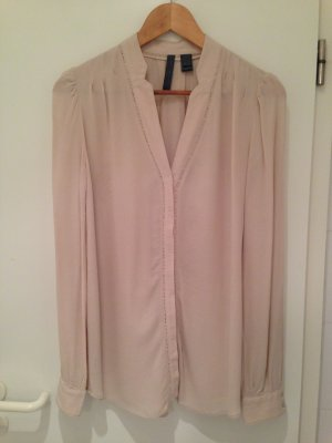 Tolle Sommerbluse in Nude von Mango Collection