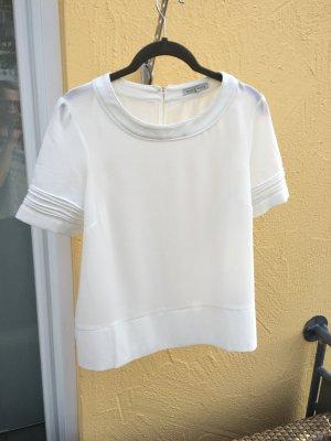 **Tolle Sommerbluse / Shirt**, nie getragen. Weiß und locker luftig