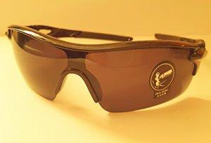 Tolle Sonnenbrille in Braun, Gläser auch braun