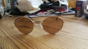 Round Sunglasses gold-colored