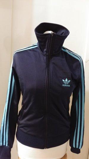 Tolle Sportjacke, Trainingsjacke von Adidas Gr M/38, wie NEU blau (wie Puma, Apparel, Nike)