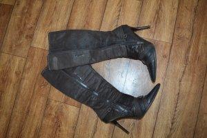 Tolle Stiefel dunkelbraun Top Gr. 40 von Graceland