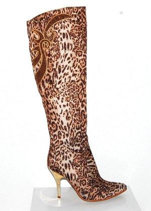 Tolle Stiefel im Leopardenlook von Sergio Todzi Gr.38