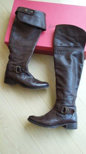 Tolle Stiefel Overknie oder Kniehoch, sehr weiches Leder Gr.40