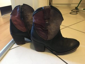 Airstep Bottines or rose-marron clair