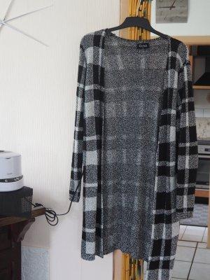 Giacca di lana nero-bianco Cotone